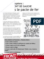 Tract Traites Europeens