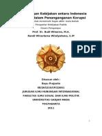 Perbandingan Kebijakan antara Indonesia dan India dalam Penanganganan Korupsi