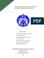 Paper Proses Pembuatan Dan Pemanfaatan Komposit Tungsten Carbide-Cobalt Sebagai Komponen Otomotif Dan Perkakas Pemotong