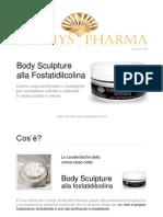 Crema Corpo Notte Antiage Anti Cellulite Antirughe Body Sculpture Alla Fosfatidilcolina ITA