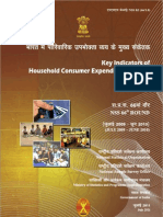 INDIA- Key Indicators-HCE 66th Rd-Report