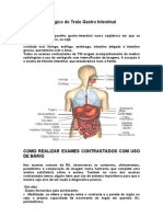 Estudo Radiológico do Trato Gastro Intestinal