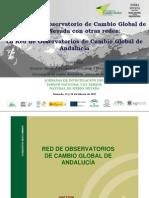 Red de Observatorios del cambio climático en Andalucía