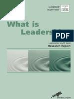 7 - What is Leadership