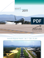 Asheville Airport Annual Report 2011