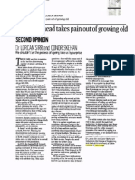Planning ahead takes pain out of ageing