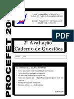 PROCEFET+2006+2AV+-+CADERNO+QUESTOES