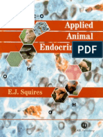 Applied Animal Endocrinology - E. James Squires (2003)