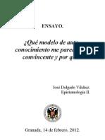 Ensayo Epistemología II