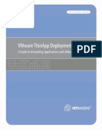 VMware ThinApp Deployment Guide