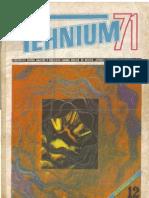 Tehnium 12 1971