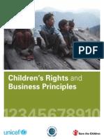 Principios Empresariales para los Derechos de Niños y Niñas [en inglés]
