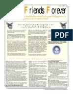 September/October Fibromyalgia Newsletter