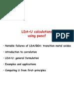 LDA+U
