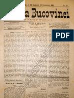 Gazeta Bucovinei # 95, Joi 30 Noiembrie (12 Decembrie) 1895