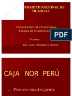 Caso Caja Nor Perú