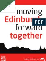 Moving Edinburgh Forward Together