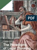 VARGA-ParadigmsOfLegalThinking-2012