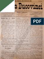 Gazeta Bucovinei # 96, Duminica 3 (15) Decembrie 1895
