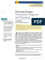 Dermoid Sinus Article