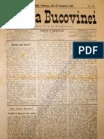 Gazeta Bucovinei # 98, Duminica 10 (22) Decembrie 1895