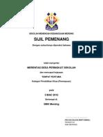 sijil merentas desa