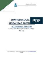 DAP-1150 Configuracion en Modalidad Repetidor