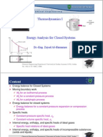Lec 6_Energy Analysis for Closed Systems