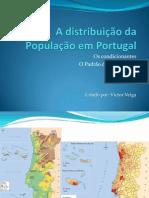 A Distribuição Da População Em Portugal