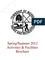 Spring-Summer 2012 Parks & Recreation Brochure