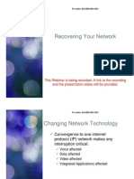 Recovering Your Network