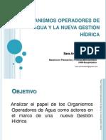 Organismos Operadores de Agua en la Nueva Gestión Hídrica