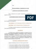 liga autonómica cadete galicia, 2011/2012