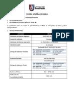 Recomendaciones Inicio de Clases 2012-01
