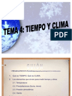 Tema 4 Tiempo y Clima