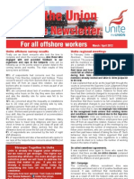 Unite Offshore March-April_2012 Newsletter