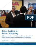 Better Auditing for Better Contracting