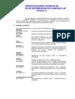 Especificaciones Td de Planchas Laf v2