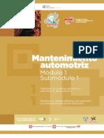 Guia Formativa Profesional Mentenimiento Automotriz 1-1. CECyTEH 2012