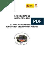 Manual de Funciones y Descriptor de Puestos