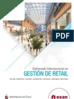 Tríptico Diplomado Internacional en Gestión de Retail