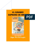 Burroughs, Edgar Rice - M6, El Cerebro Supremo de Marte