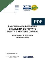 Panorama Da Industria Brasileira de Private Equity e Venture Capital_2008