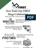 First NYC Mega Celebration Newspaper