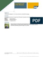 Custom Program to Analyze the PSA & Delete the PSA Records Dynamically