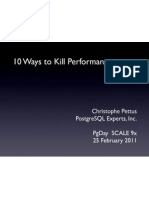 10 Ways to Kill Performance