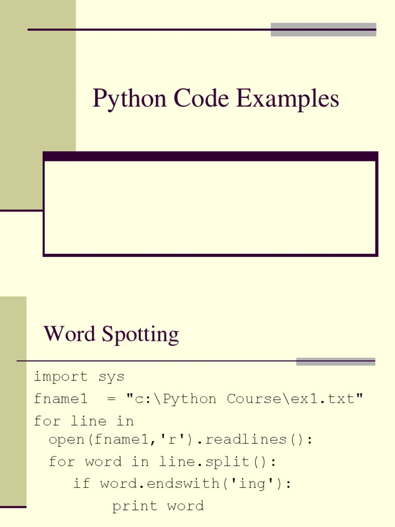 Python Code Examples | Proxy Server | Hypertext Transfer Protocol