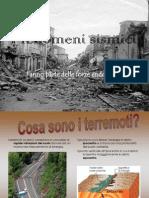 I fenomeni sismici