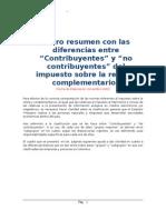 Diferencias Contribuyentes Nocontribuyentes
