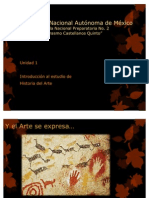 Unidad 1 de Historia del Arte
